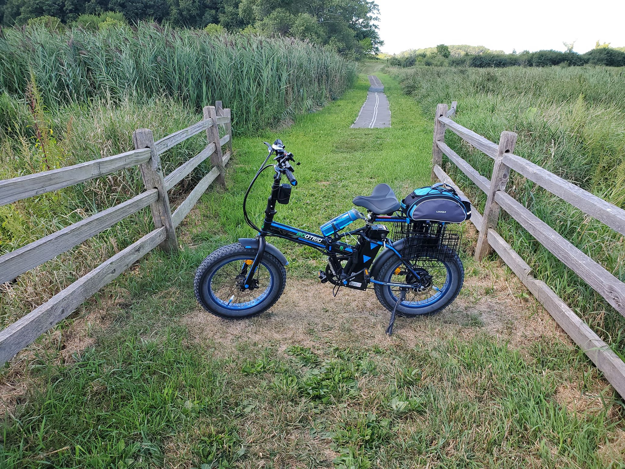 The electric bike is good for your health