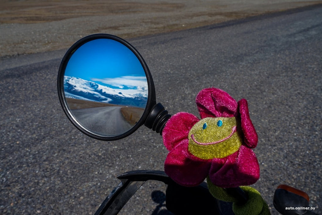 beautiful photos about a bike trip