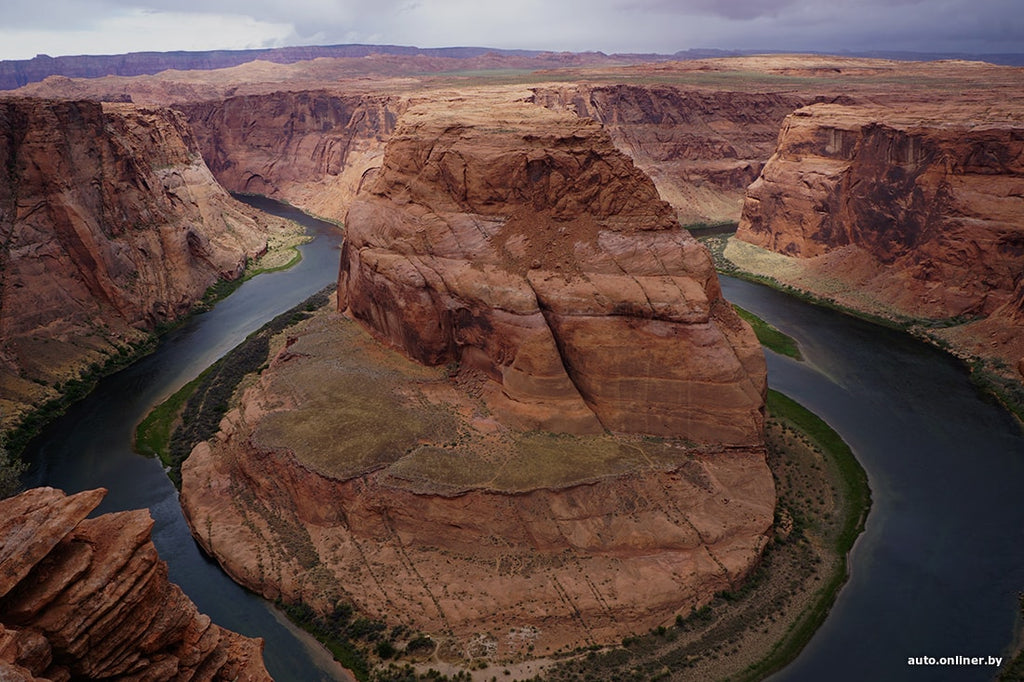Beautiful travel canyons in America