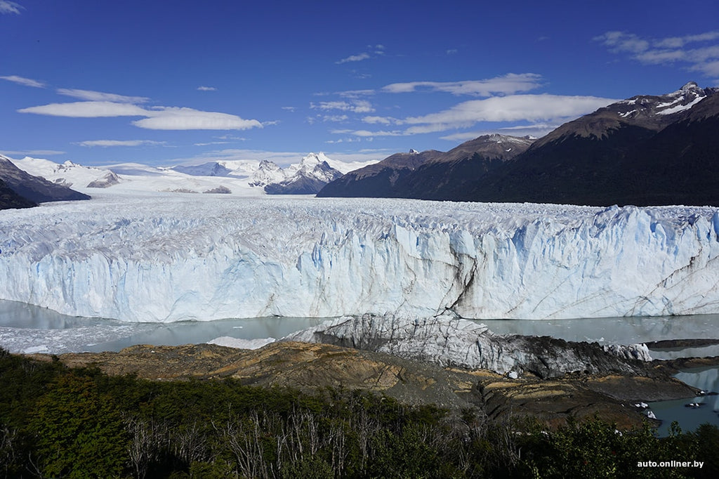 Glaciers in the mountains of Argentina