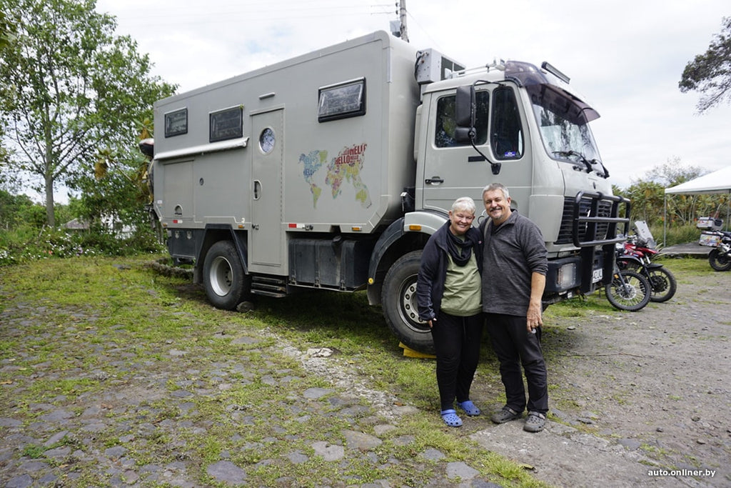 Having retired, we decided to go on a big trip on their own motorhome