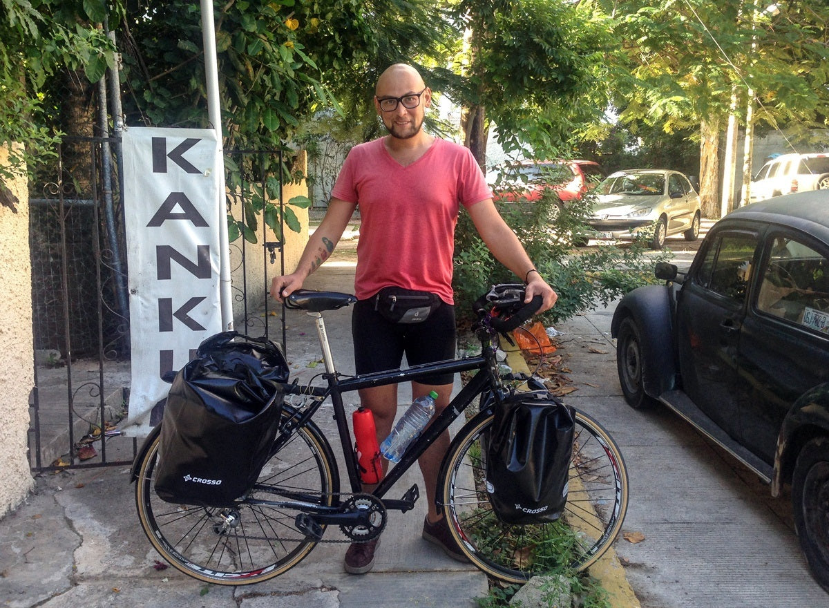 I am planning to cycle all over Latin America.