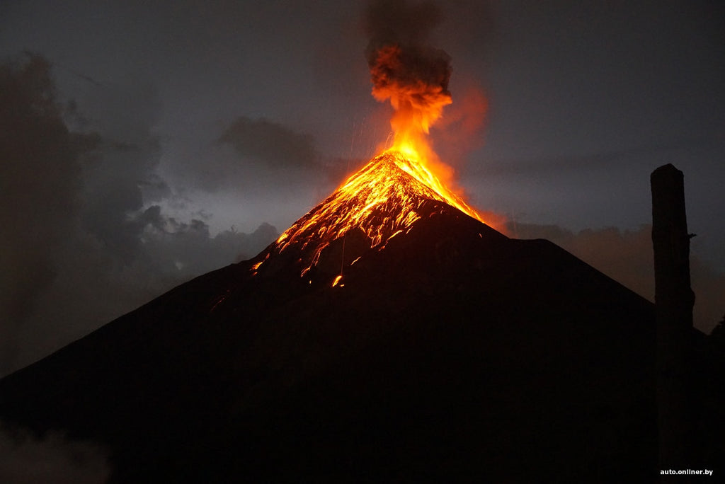 fire-breathing Fuego, which refers to unpredictable volcanoes
