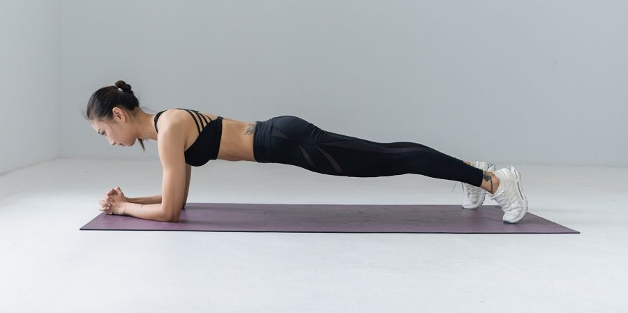 One of the most effective exercises for strengthening the back is a plank in various variations.