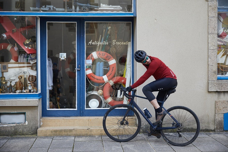 """The most frequently asked question to a cyclist in winter: """"Isn't it cold?"""""""