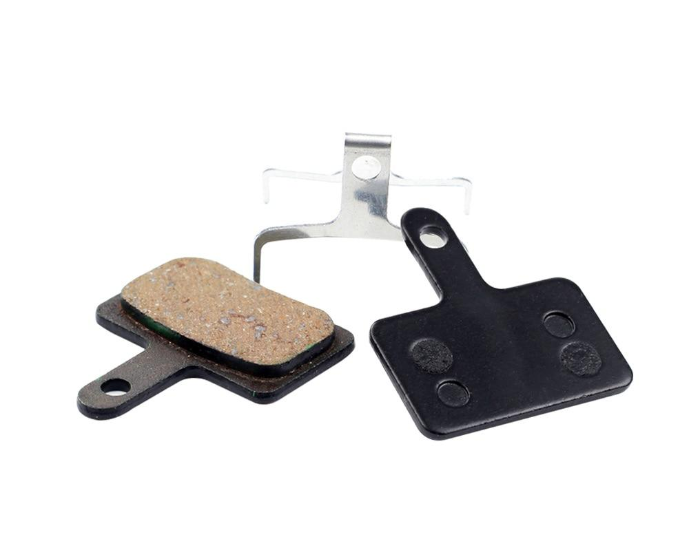 1 Pair Bicycle Semi - Metallic Disc Brake Pads For Shimano Bikewest.com