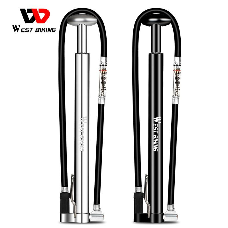 160PSI High Pressure Bicycle Pump Cycling Air Inflator Bikewest.com