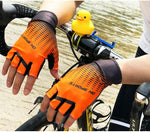 Load image into Gallery viewer, 1Pair Half /Full Finger Cycling Gloves With 1Pair Cycling Socks Bikewest.com