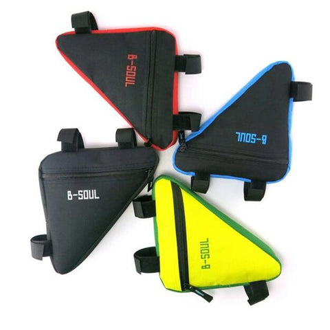 4 Colors Waterproof Triangle Cycling Bicycle Bags Front Tube Bikewest.com