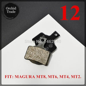 4 Pair (8pcs) MTB bicycle disc brake pads semi-metallic Bikewest.com 12