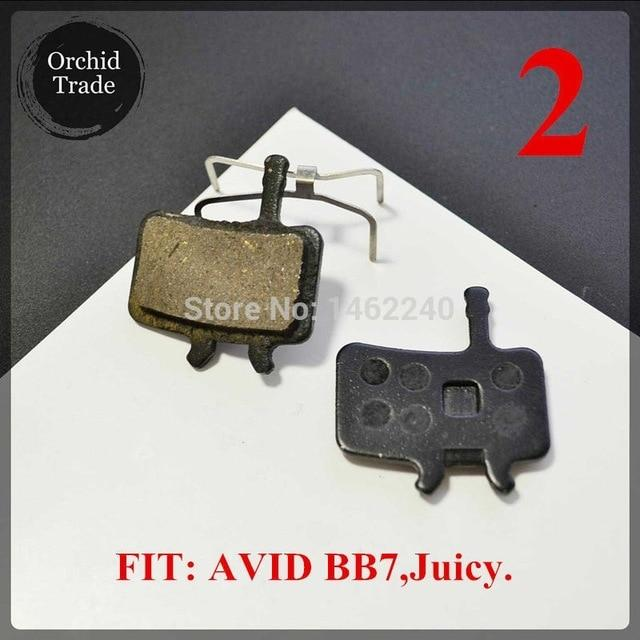 4 Pair (8pcs) MTB bicycle disc brake pads semi-metallic Bikewest.com 2