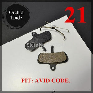 4 Pair (8pcs) MTB bicycle disc brake pads semi-metallic Bikewest.com 21