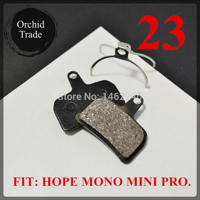 4 Pair (8pcs) MTB bicycle disc brake pads semi-metallic Bikewest.com 23