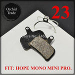 Load image into Gallery viewer, 4 Pair (8pcs) MTB bicycle disc brake pads semi-metallic Bikewest.com 23