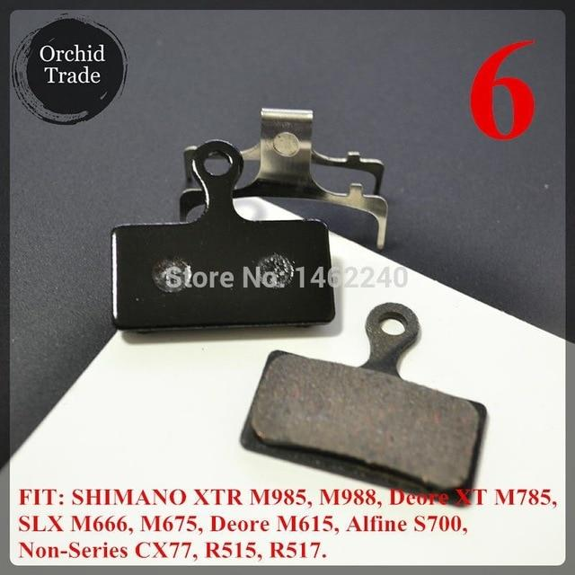 4 Pair (8pcs) MTB bicycle disc brake pads semi-metallic Bikewest.com 6
