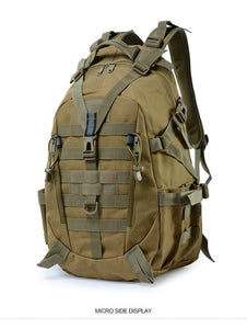 40L Camping Backpack Military Bag Men Travel Bags Bikewest.com