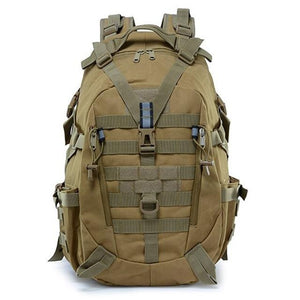 40L Camping Backpack Military Bag Men Travel Bags Bikewest.com Khaki 30 - 40L