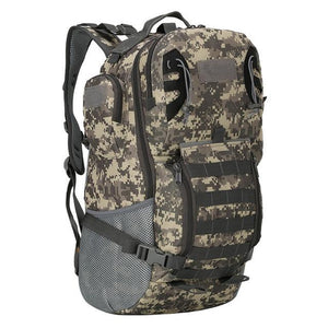 45L Outdoor Military Backpack Tactical Rucksack Camping Hiking Travel Sports Bag Bikewest.com ACU 50 - 70L