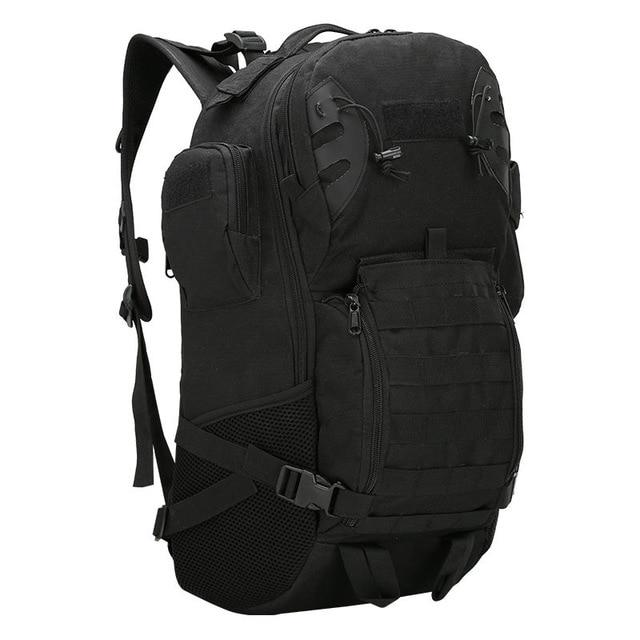45L Outdoor Military Backpack Tactical Rucksack Camping Hiking Travel Sports Bag Bikewest.com Black 50 - 70L