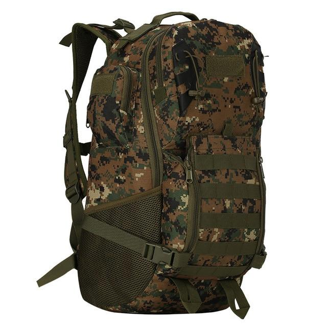 45L Outdoor Military Backpack Tactical Rucksack Camping Hiking Travel Sports Bag Bikewest.com Jungle digital 50 - 70L
