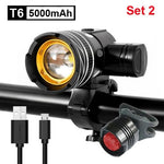 Load image into Gallery viewer, 5000mAh Bicycle Light 800 Lumen Bikewest.com 5000mAh Set 2 Spain