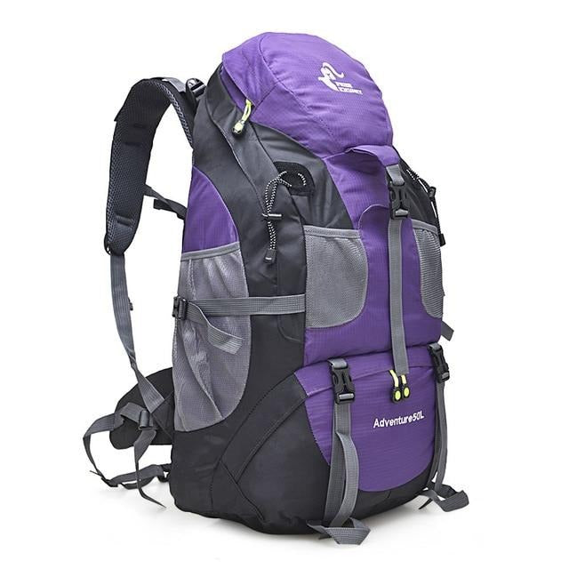 50L Hiking Backpack Climbing Bag Bikewest.com 50L purple China