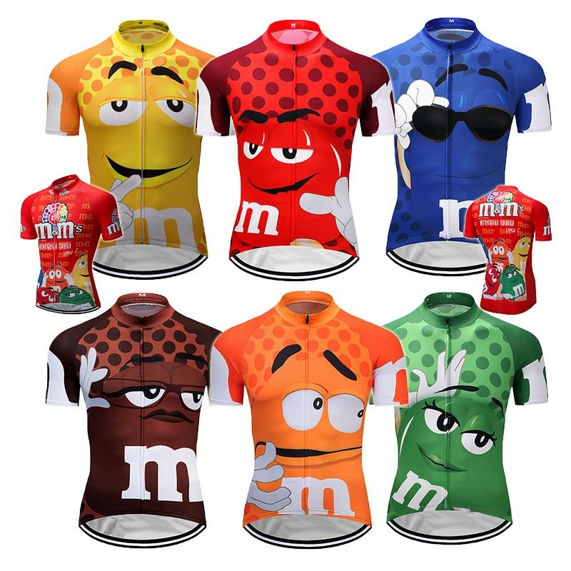 7 colors Summer Cycling Jerseys Funny Cycling Clothing Mtb Shirt Bicycle top Shirt Short Maillot Ropa Ciclismo Bike Wear Clothes Bikewest.com