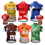 Load image into Gallery viewer, 7 colors Summer Cycling Jerseys Funny Cycling Clothing Mtb Shirt Bicycle top Shirt Short Maillot Ropa Ciclismo Bike Wear Clothes Bikewest.com
