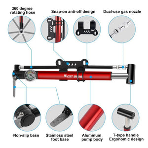 Alloy Bicycle Pump Bikewest.com