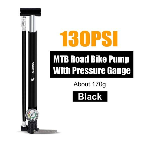 Alloy Bicycle Pump Bikewest.com Black China