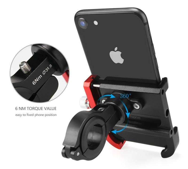 Aluminum Alloy Bicycle Phone Holder Bikewest.com