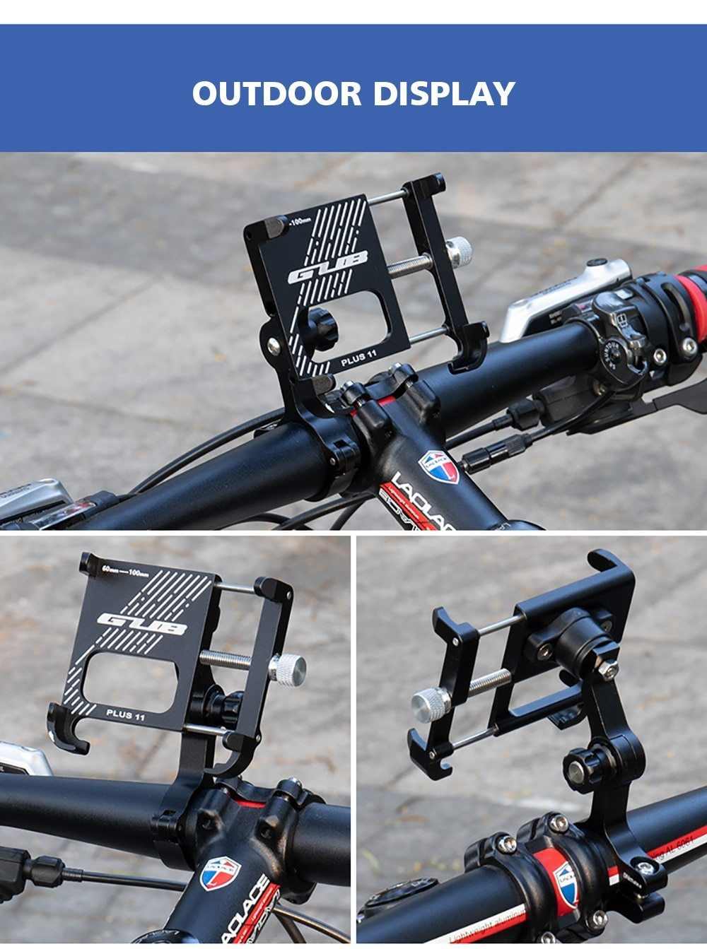 Aluminum Bicycle Phone Mount Bikewest.com