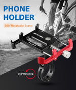Load image into Gallery viewer, Aluminum Bicycle Phone Mount Bikewest.com