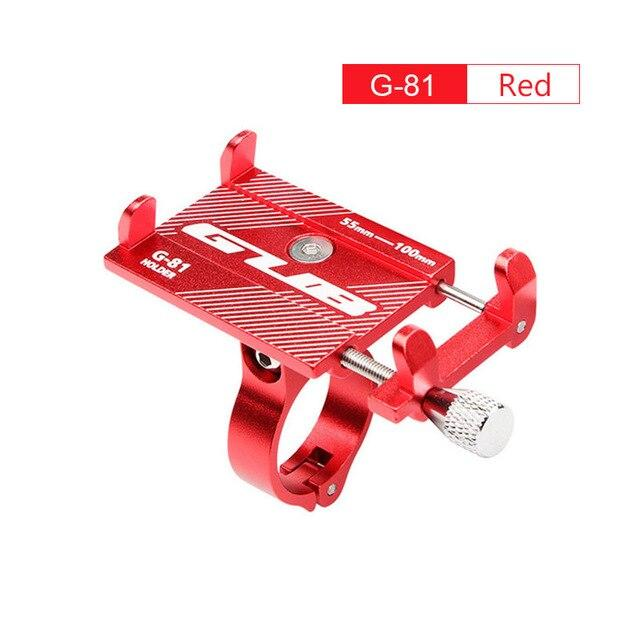 Aluminum Bicycle Phone Mount Bikewest.com G81 Red China