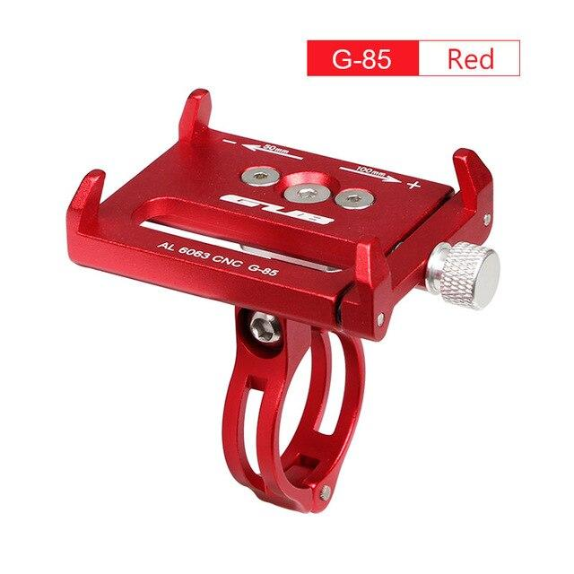 Aluminum Bicycle Phone Mount Bikewest.com G85 Red China