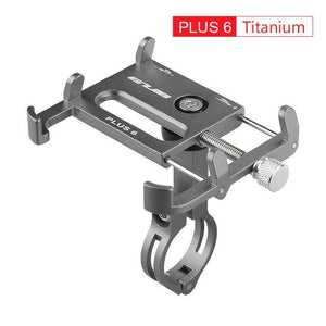 Aluminum Bicycle Phone Mount Bikewest.com Plus6 Titanium China
