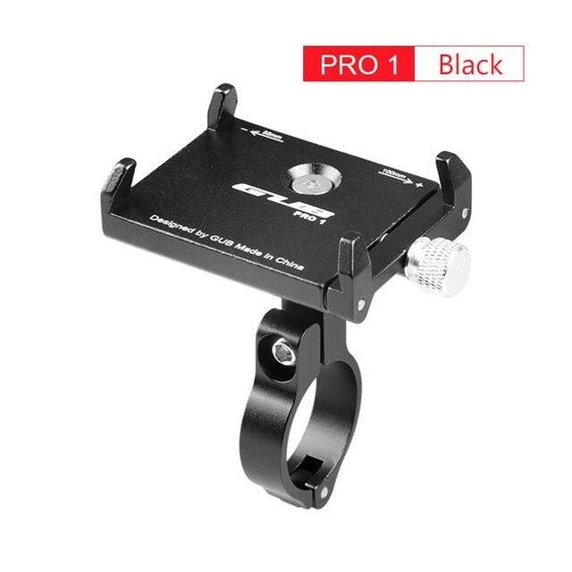 Aluminum Bicycle Phone Mount Bikewest.com Pro1 Black China
