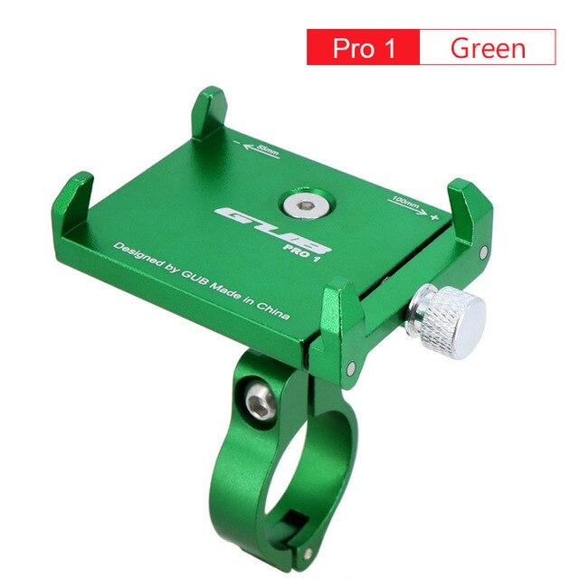 Aluminum Bicycle Phone Mount Bikewest.com Pro1 Green China