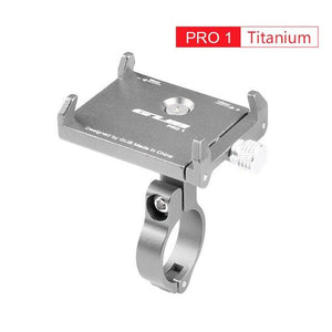 Aluminum Bicycle Phone Mount Bikewest.com Pro1 Titanium China