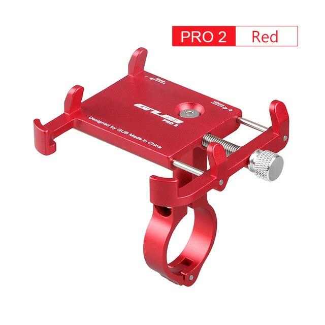 Aluminum Bicycle Phone Mount Bikewest.com Pro2 Red China