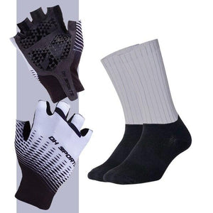 Anti-slip Cycling Gloves with Non-Slip Cycling Socks Set Bikewest.com G05 M