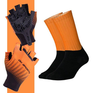 Anti-slip Cycling Gloves with Non-Slip Cycling Socks Set Bikewest.com G06 L