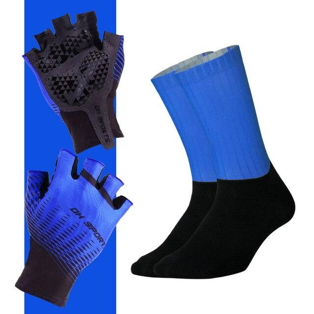 Anti-slip Cycling Gloves with Non-Slip Cycling Socks Set Bikewest.com G08 M