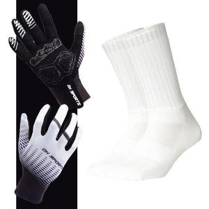 Anti-slip Cycling Gloves with Non-Slip Cycling Socks Set Bikewest.com G11 M