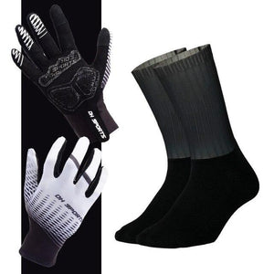 Anti-slip Cycling Gloves with Non-Slip Cycling Socks Set Bikewest.com G12 L