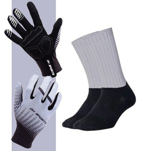 Anti-slip Cycling Gloves with Non-Slip Cycling Socks Set Bikewest.com G13 XL
