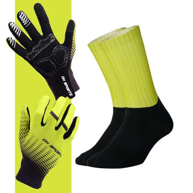 Anti-slip Cycling Gloves with Non-Slip Cycling Socks Set Bikewest.com G15 M