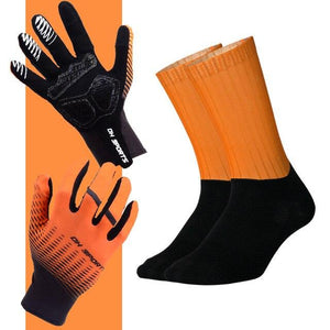 Anti-slip Cycling Gloves with Non-Slip Cycling Socks Set Bikewest.com G16 L