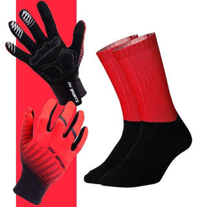 Anti-slip Cycling Gloves with Non-Slip Cycling Socks Set Bikewest.com G17 XL