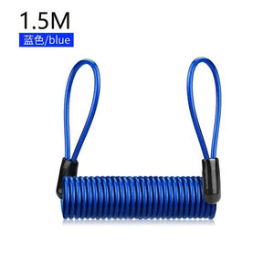 Anti-theft Waterproof Moto Bike Lock Cycling Security Lock Bikewest.com Blue 1